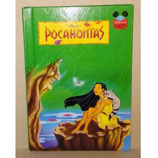 Preloved Disney Story Book - Pocahontas