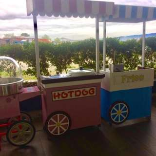 Foodcarts for parties/events