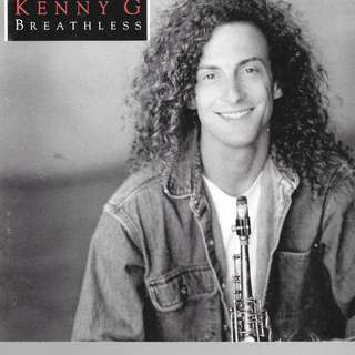 MY CD - KENNY G.=BREATHLESS//// FREE DELIVERY BY SINGPOST.