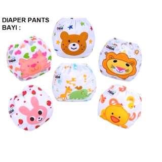 Diaper Pants untuk Bayi/Baby PATTERN Diaper Pants