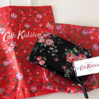 全新正貨Cath Kidston銀包