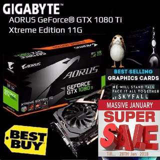 Gigabyte AORUS GTX 1080 Ti Xtreme Edition 11G. ( Super Sales till....28 Jan 2018....) Best Buy GPU in History of ManKind. Hurry Grab it while Stock Last..!! (Save yrsf)