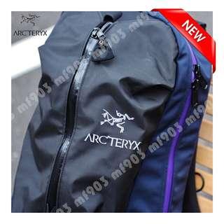 Arcteryx Arro22 Backpack Black/Sapphire 2017 紫白別注 限量不死鳥 wtaps 背包 Visvim 背囊 防水 Y3 Gregory