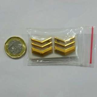 Taiwan Military Army Infantry Collar Pin