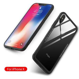 Iphone X Tempered Glass Casing