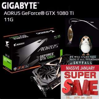 Gigabyte AORUS GTX 1080 Ti 11G. ( Super Sales till....28 Jan 2018....) Hurry Grab it while Stock Last..!! (Save yrsf)