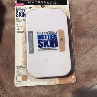 Maybelline betterskin foundation