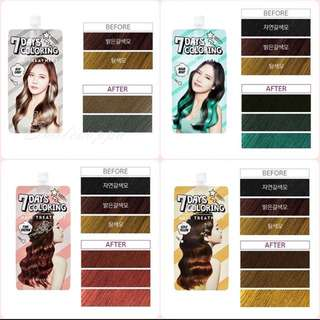 MISSHA 7 days Hair Colour treatment Dye