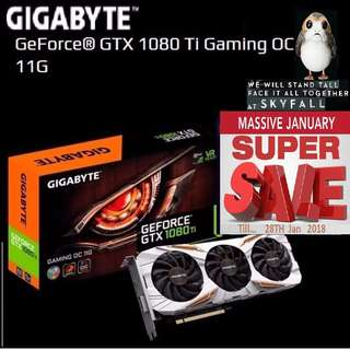 Gigabyte GTX 1080 Ti Gaming OC 11G. ( Super Sales till....28 Jan 2018.....) Hurry Grab it while Stock Last..!! (Save yrsf)