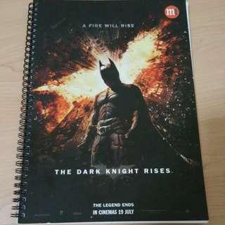 Batman The Dark Knight Rises Journal Book