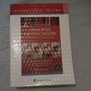 Kaplan Psychiatry Book