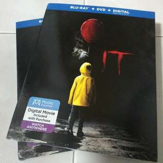 IT Bluray/DVD/Digital With Slipcover