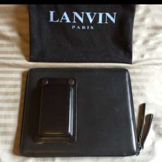 LANVIN OPANCA IPAD PORTFOLIO CLUTCH FOLDER