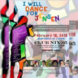 A Night of Music and Dancing for the Benefit of Jensen Andrew Garcia's  Radiation Therapy for his Brainstem Tumor