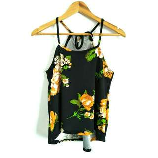 Floral Strappy Top