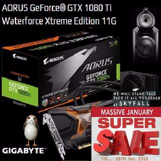 Gigabyte AORUS GTX 1080 Ti Waterforce Xtreme Edition 11G. ( Super Sales till...28 Jan 2018....) Hurry Grab it while Stock Last !! (Save yrsf)