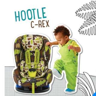 Cosatto Hootle Group 0+/1 Car Seat - C-Rex