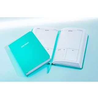 【$106.5】2018 Tiffany Blue Schedule Book Timetable 2018 全新 超美 行事曆 行程簿 時間表 計劃本