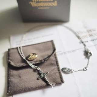 有單 Vivienne Westwood 星球 鎖匙形 頸鏈