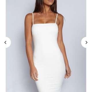 Babyboo White Dress