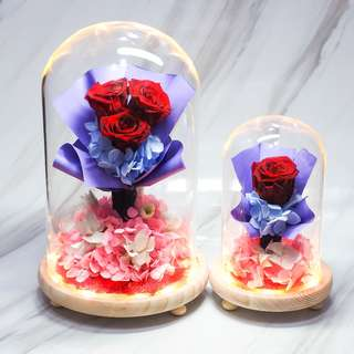 Red Preserved Rose Bouquet - OOS