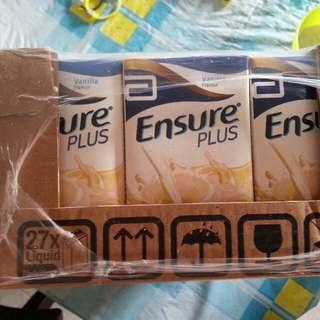 Ensure Plus Milk Vanilla