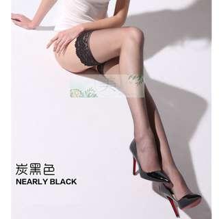 Meisecret_hk   Lervansh 7Den 花邊長筒絲襪
