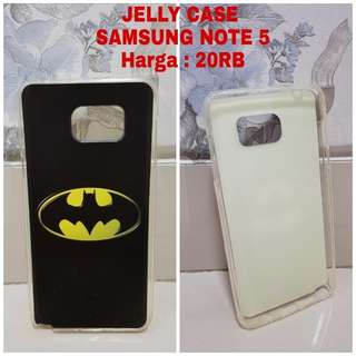 JELLY CASE SAMSUNG NOTE 5