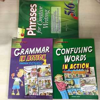 Casco phrases for creative writing 5/6 n grammar in action through pictures 1 n confusing words in action through pictures 1.