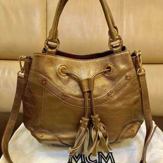 MCM two way bag