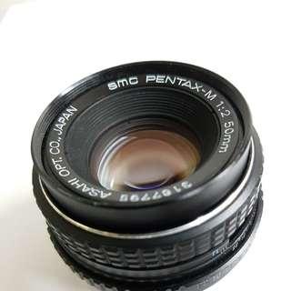 Pentax smc 50mm f2 k mount