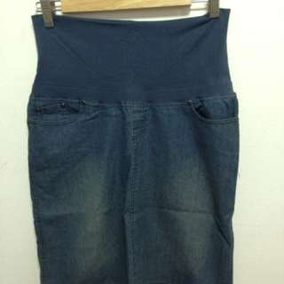 Mev Jeans Skirt (Mothers en Vogue)