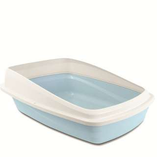 Cat Love LItter Pan with Removeable Rim Large