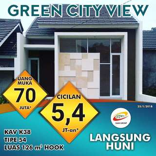 Rumah The Green City View
