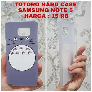 HARD CASE TOTORO SAMSUNG NOTE 5