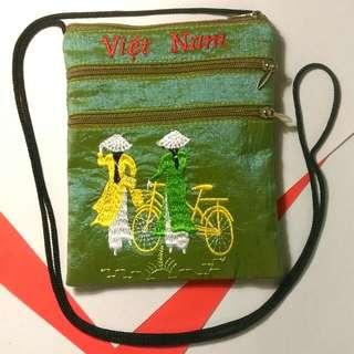 Vietnam souvenirs zipper pouch hanging string 越南直送手信拉鍊小袋子仔