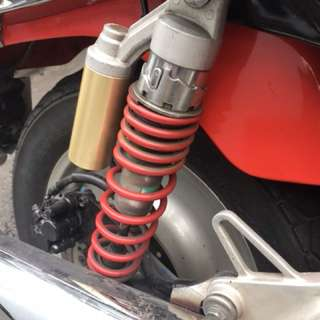 Original Super 4 suspension red