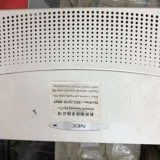 公司電話跳線系統3線8机(NEC)