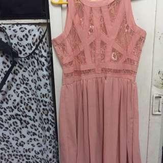 Peach Gorgeous Dress