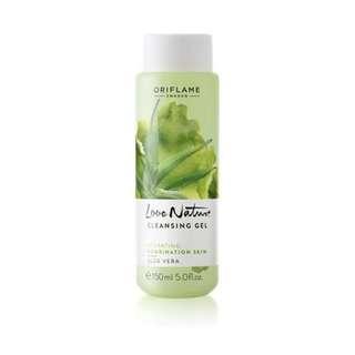 Love Nature Cleansing Gel Aloe Vera - Oriflame