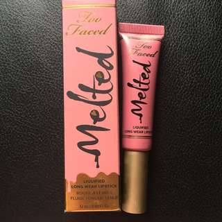 Melted too faced shade chihuahua