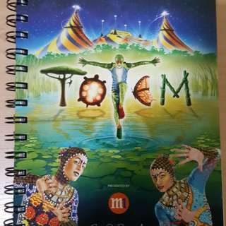 Cirque Du Soleil Totem Writing Book