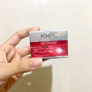 [BRAND NEW] Ponds Age Miracle Deep Action Night Cream (10g)