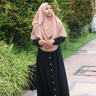 Hijab Instant Free Bandana Rajut
