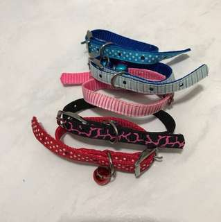 Pet collar with bell