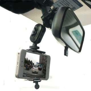 🚚 後視鏡支架 導航固定支架 後照镜手幾行車記錄器掛架 平板支架 通用手機架