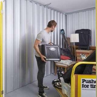Storage space rental