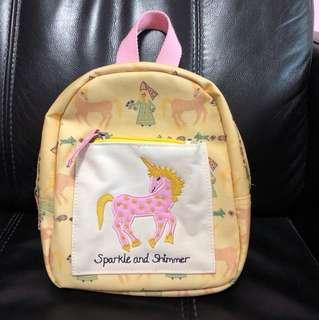 Unicorn Princess Toddler Kid Children Bag Backpack Schoolbag