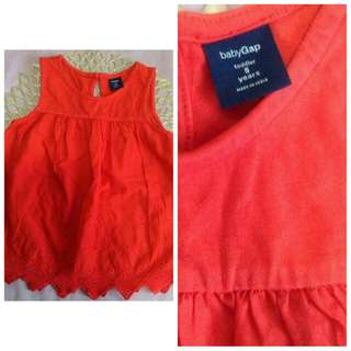 Baby Gap Red Dress