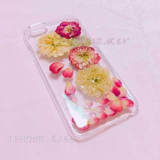 🈹特價 IPhone 6 6plus 乾花殻 押花殻 包平郵